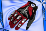 Handschuhe MG009-L RED/BLACK/Silver(WHITE)