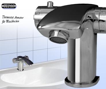 Thermostat Universal Waschbecken Armatur Bad Waschtisch ...
