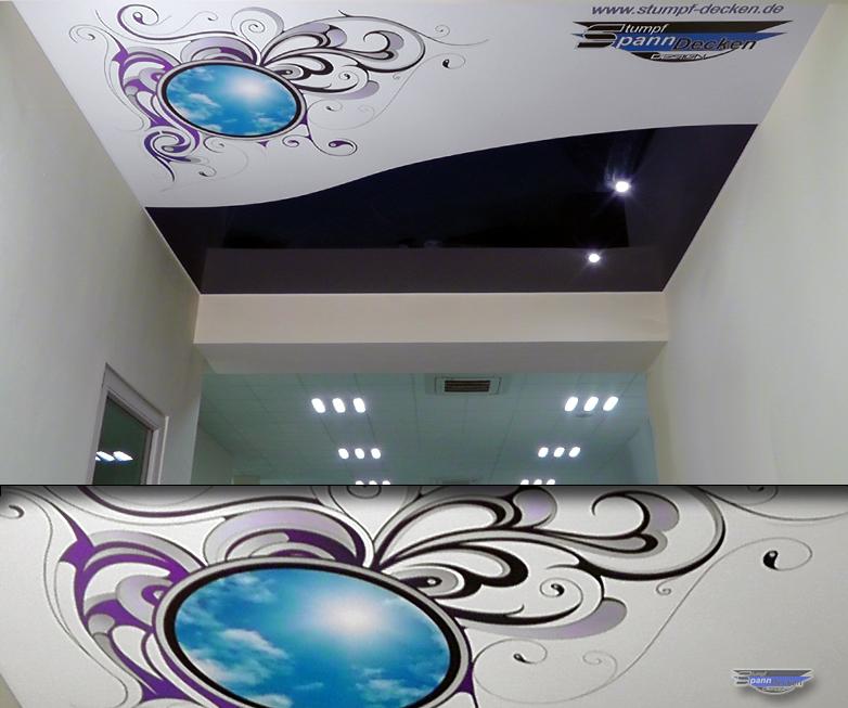 Gut bekannt Spanndecken Kombidecke Fotodruck Kunstdecken Foliendecke Farbig ZH95
